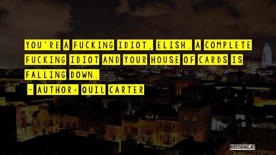 A House Of Cards Quotes By Quil Carter
