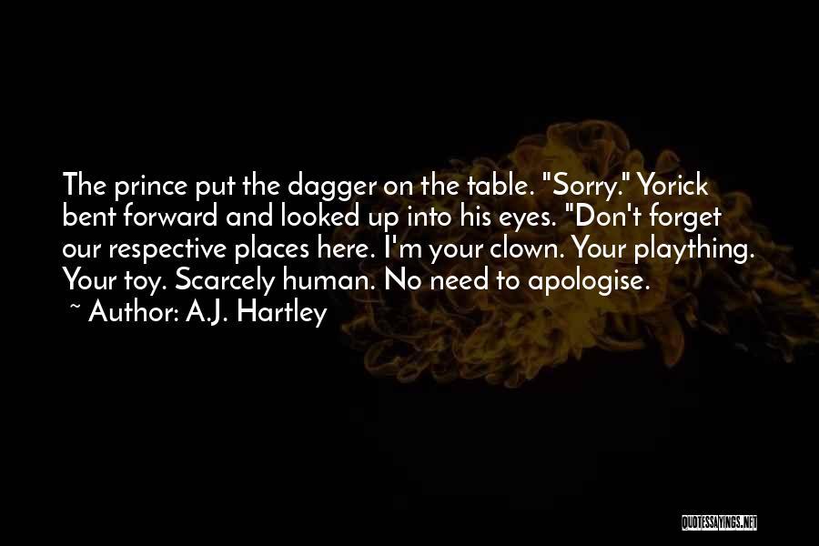 A.J. Hartley Quotes 1564525