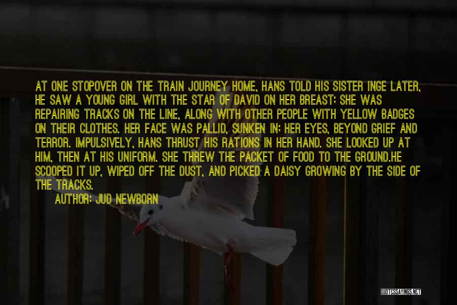 A Journey By Train Quotes By Jud Newborn
