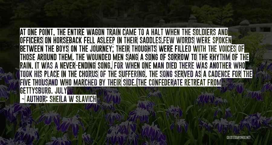 A Journey By Train Quotes By Sheila W Slavich