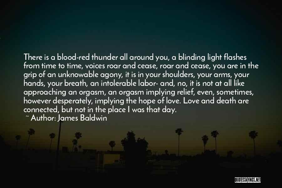 A Light Of Hope Quotes By James Baldwin