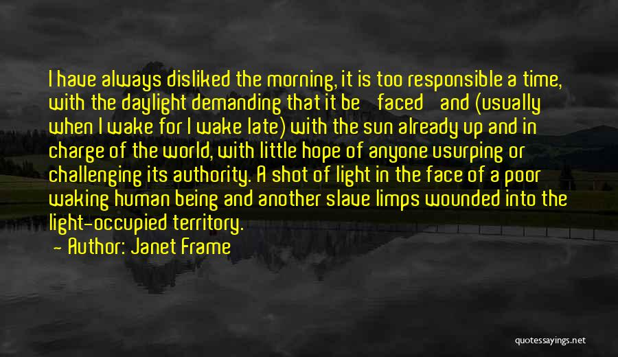 A Light Of Hope Quotes By Janet Frame