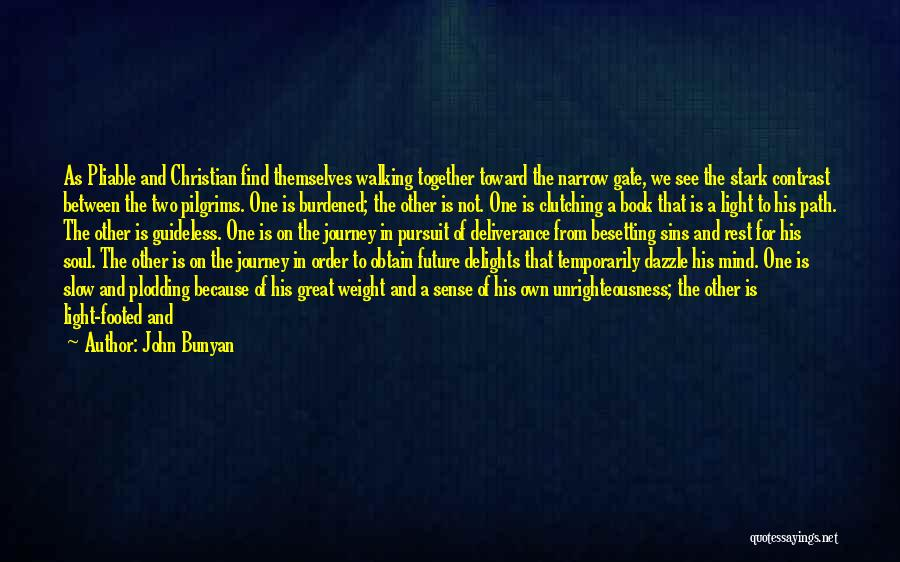A Light Of Hope Quotes By John Bunyan