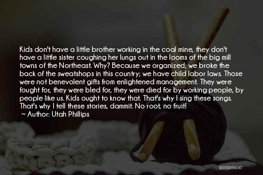 Top 13 Quotes & Sayings About A Little Brother And Big Sister