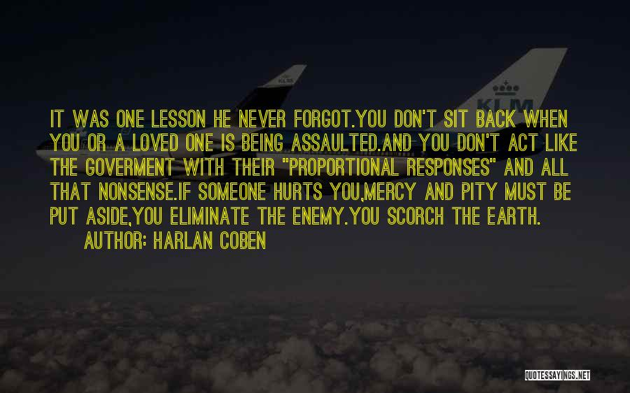 A Love That Hurts Quotes By Harlan Coben