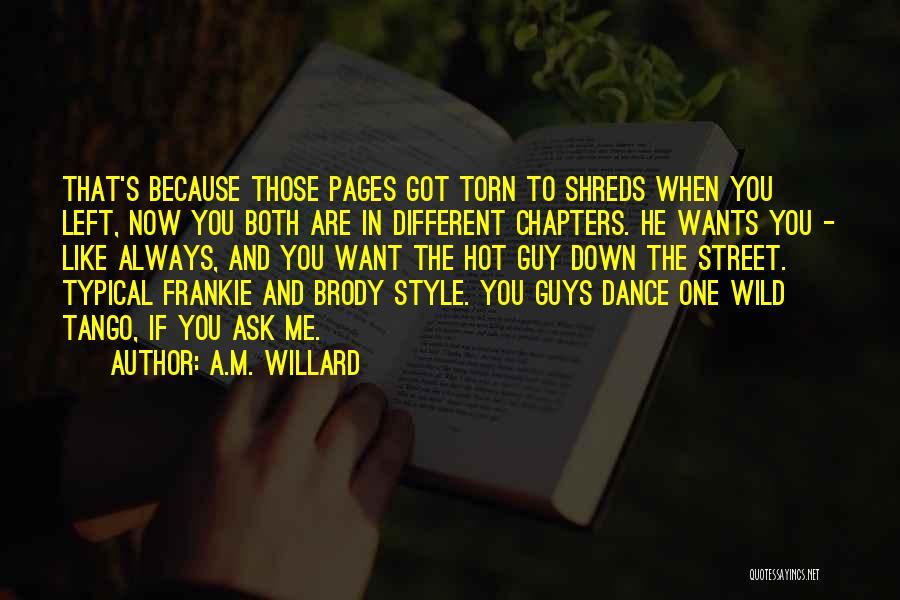 A.M. Willard Quotes 221687