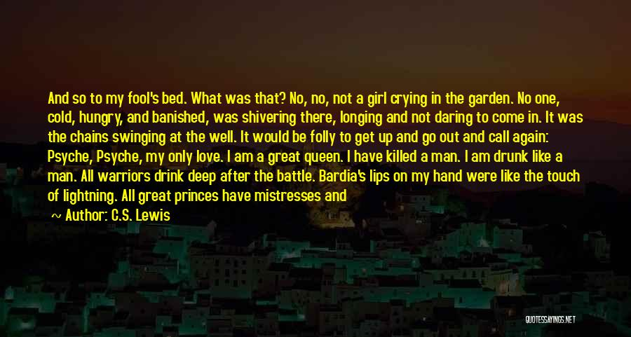 A Man Crying Quotes By C.S. Lewis