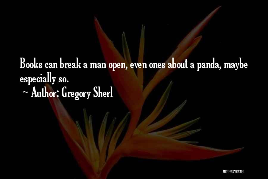 A Man Crying Quotes By Gregory Sherl