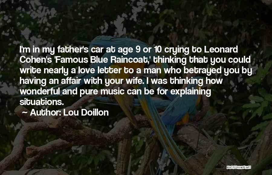 A Man Crying Quotes By Lou Doillon
