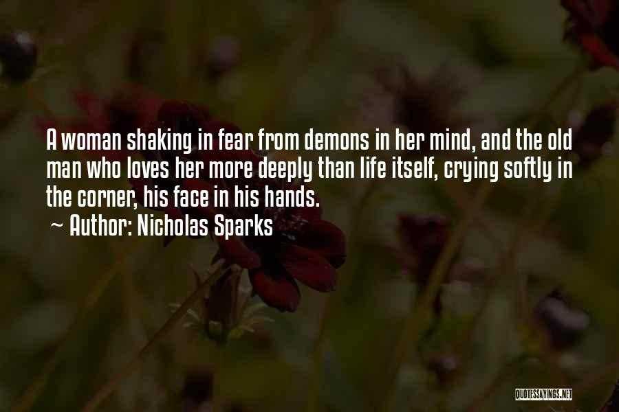 A Man Crying Quotes By Nicholas Sparks