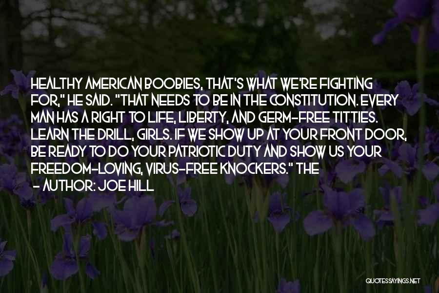 A Man In Your Life Quotes By Joe Hill