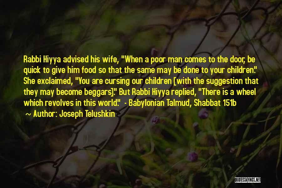 A Man In Your Life Quotes By Joseph Telushkin