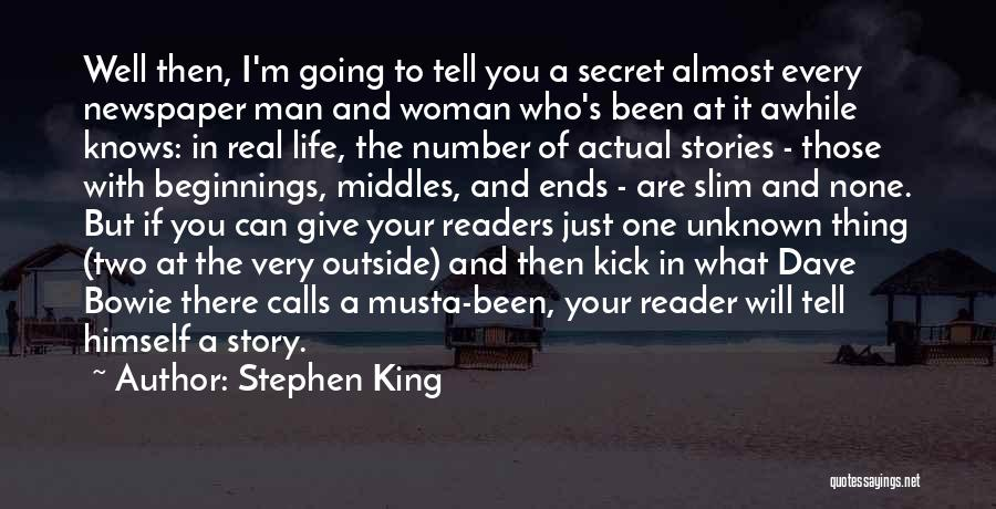 A Man In Your Life Quotes By Stephen King