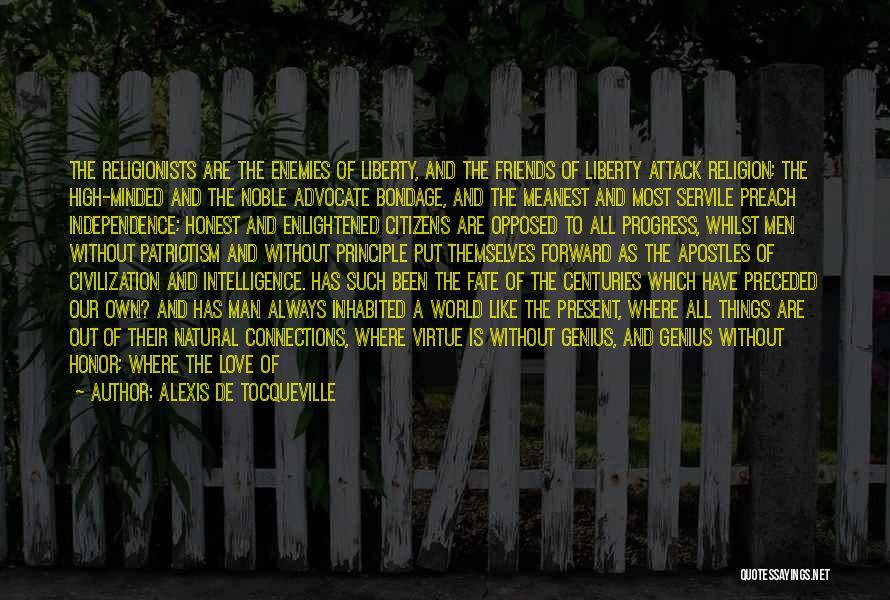 A Man Of Honor Quotes By Alexis De Tocqueville