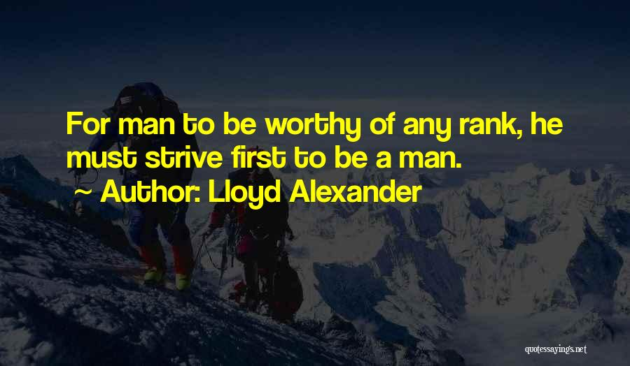 A Man Of Honor Quotes By Lloyd Alexander