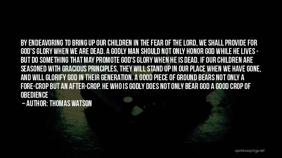 A Man Of Honor Quotes By Thomas Watson