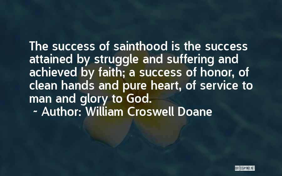 A Man Of Honor Quotes By William Croswell Doane