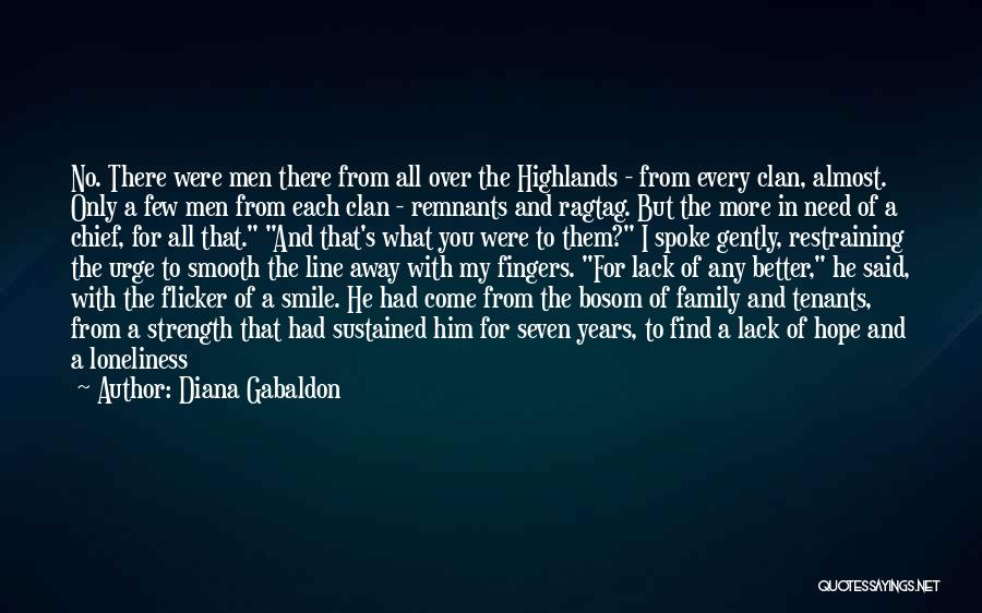 A Man's Family Quotes By Diana Gabaldon