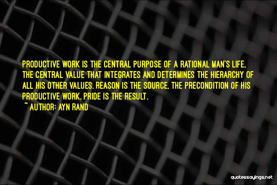 A Man's Pride Quotes By Ayn Rand