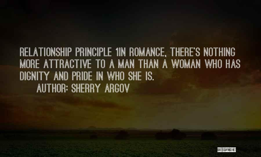 A Man's Pride Quotes By Sherry Argov