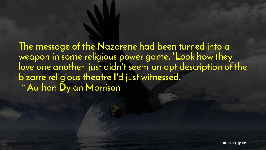 A Message Quotes By Dylan Morrison