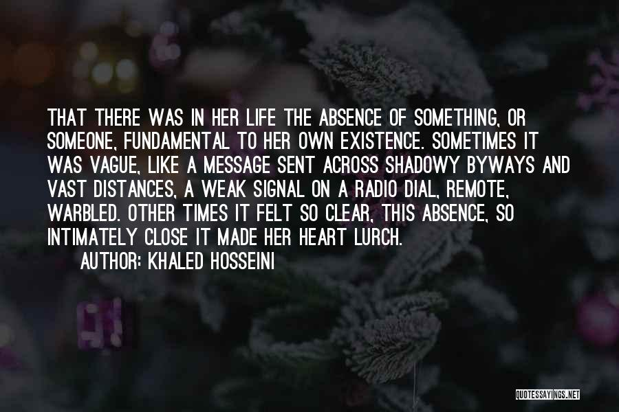 A Message Quotes By Khaled Hosseini