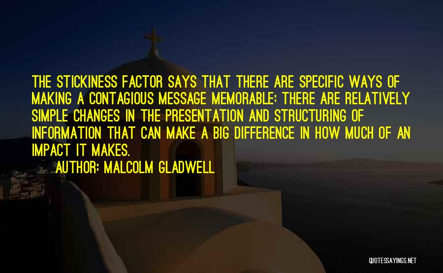 A Message Quotes By Malcolm Gladwell