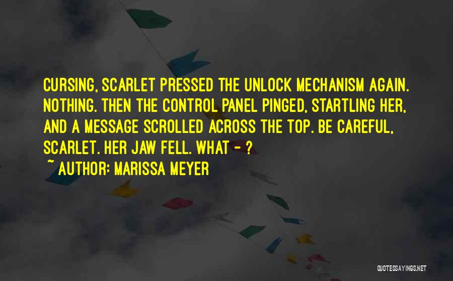 A Message Quotes By Marissa Meyer