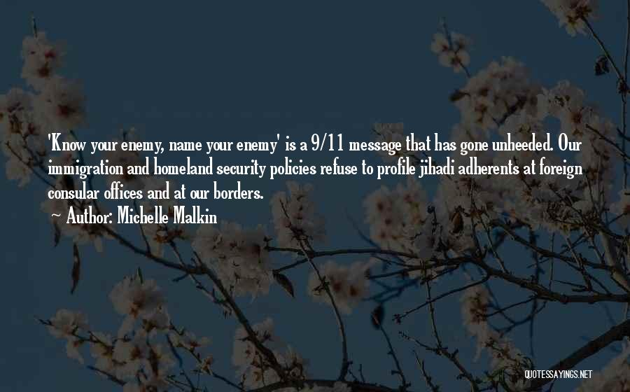 A Message Quotes By Michelle Malkin