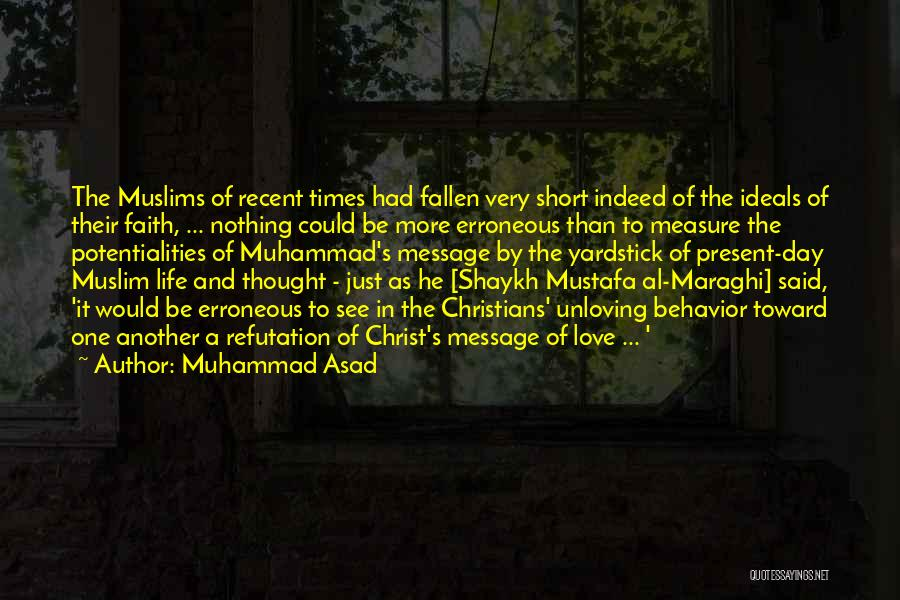 A Message Quotes By Muhammad Asad