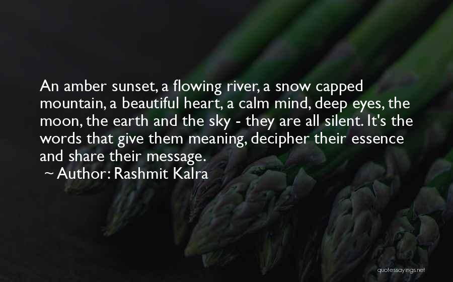 A Message Quotes By Rashmit Kalra
