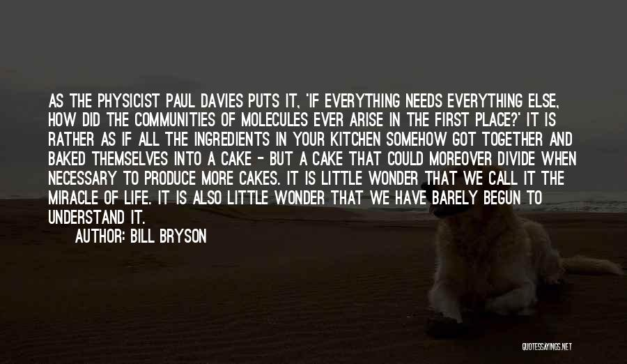 A Miracle Quotes By Bill Bryson