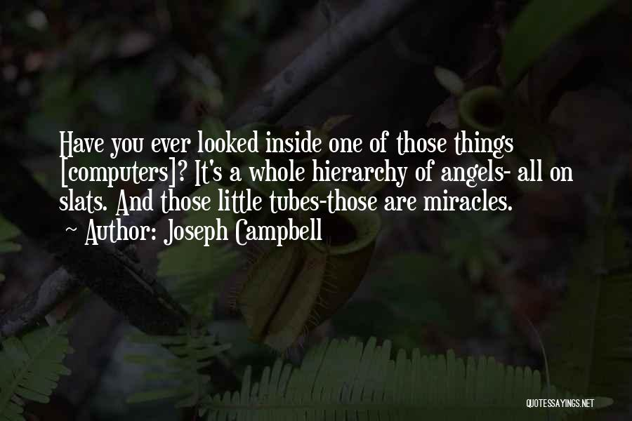 A Miracle Quotes By Joseph Campbell