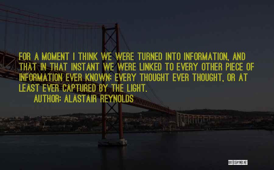 A Moment Captured Quotes By Alastair Reynolds
