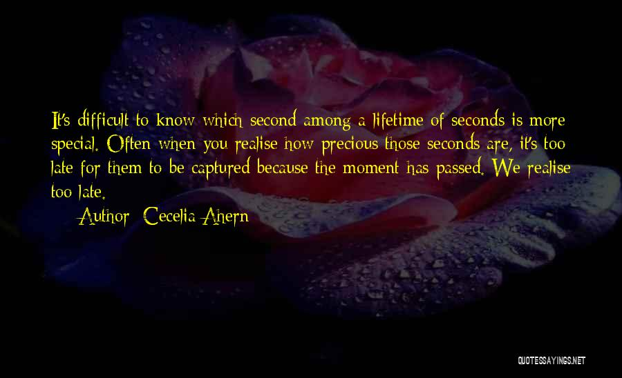 A Moment Captured Quotes By Cecelia Ahern