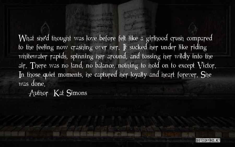 A Moment Captured Quotes By Kat Simons