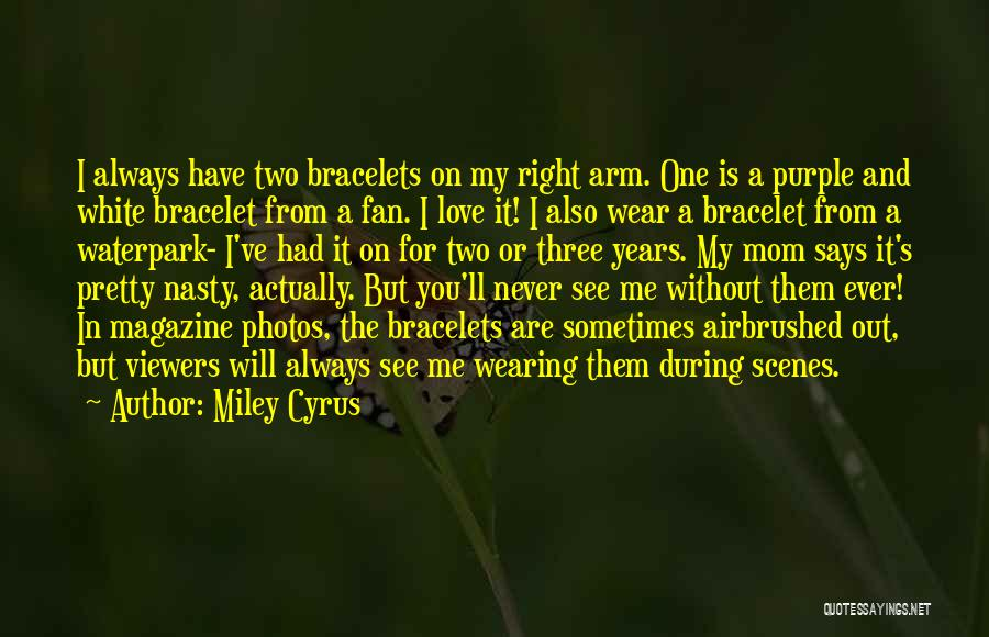 A Mom's Love Quotes By Miley Cyrus