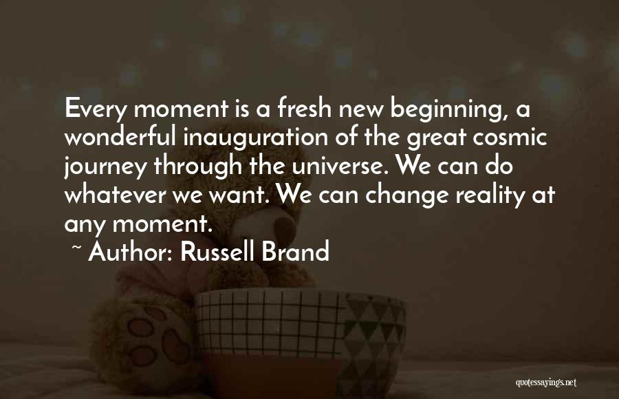 Top 15 Quotes & Sayings About A New Journey Beginning