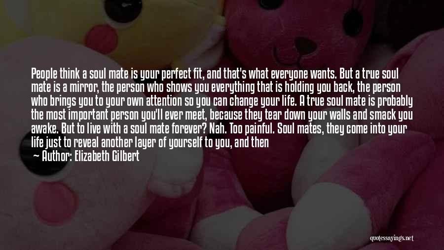 A New Person In Your Life Quotes By Elizabeth Gilbert