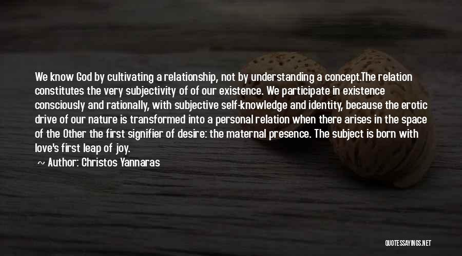 A Personal Relationship With Jesus Quotes By Christos Yannaras
