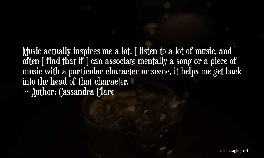 A Piece Of Me Quotes By Cassandra Clare