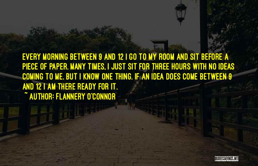 A Piece Of Me Quotes By Flannery O'Connor