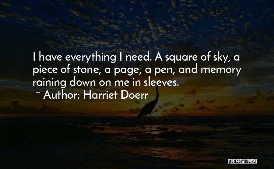 A Piece Of Me Quotes By Harriet Doerr
