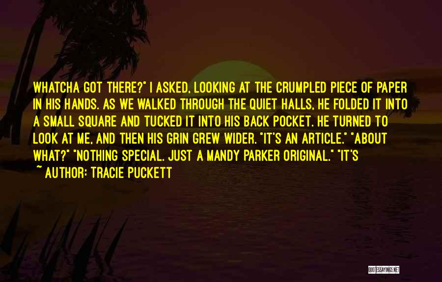 A Piece Of Me Quotes By Tracie Puckett