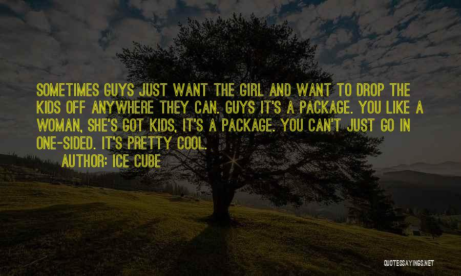 A Pretty Girl Quotes By Ice Cube