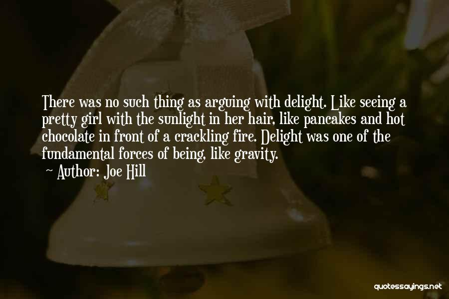 A Pretty Girl Quotes By Joe Hill