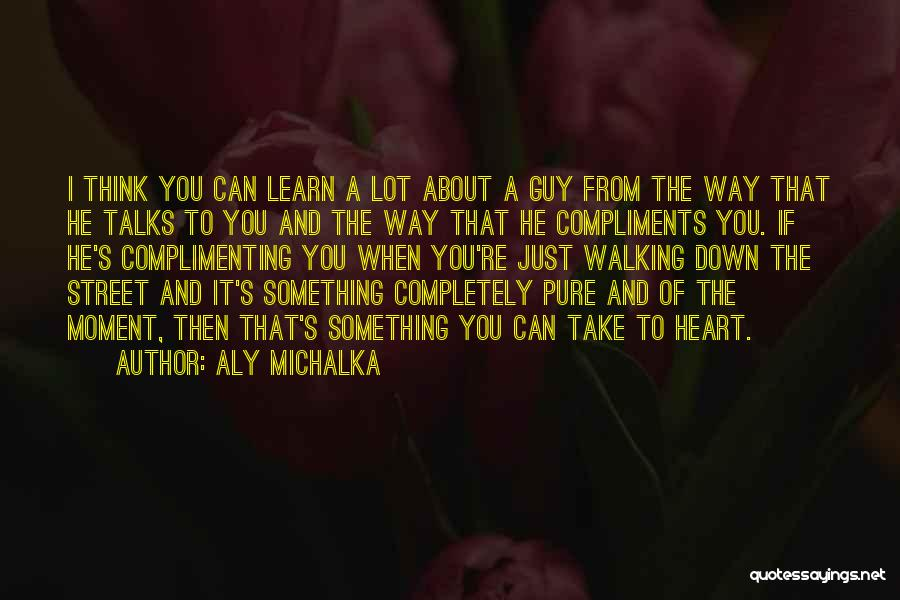 A Pure Heart Quotes By Aly Michalka