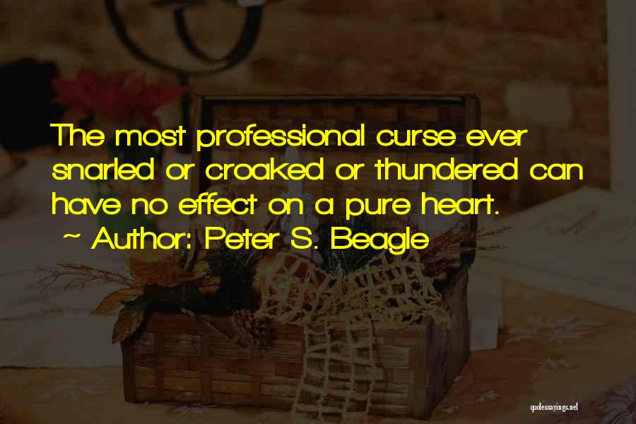 A Pure Heart Quotes By Peter S. Beagle