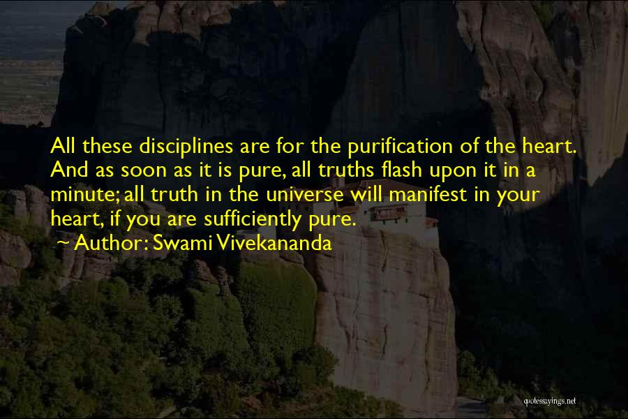 A Pure Heart Quotes By Swami Vivekananda
