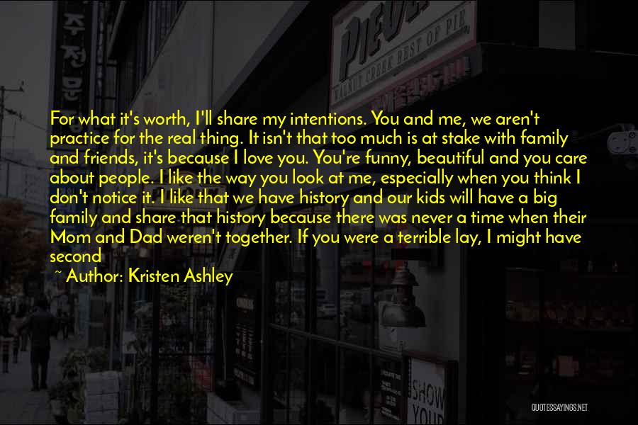 A Real Dad Quotes By Kristen Ashley